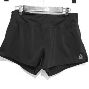 Reebok Black sport shorts M